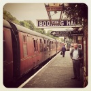 Bewdley steam train station